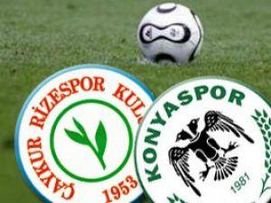 Çaykur Rizespor 2-2 Konyaspor