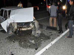Konyada kaza; 2 yaralı