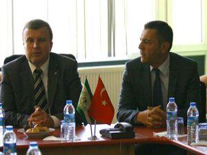 TSYD üyeleri Konyasporu ziyaret etti