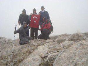 Seydişehirli Dağcılar Atatürk dağında