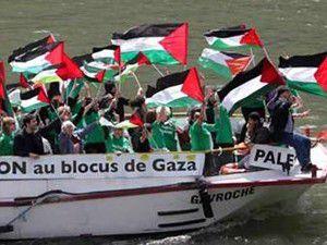 İsrail askeri Gazzeye giden iki gemiye saldırdı!