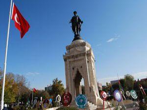 Konyada Atatürk ölümünün 73. yılında anıldı