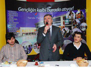 Başkan Akyürek Konyalı öğrencilerle buluştu