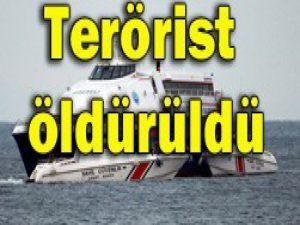 Otobüsü kaçıran terörist öldürüldü