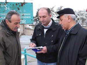 Beyşehir Gölünde İmza Kampanyası