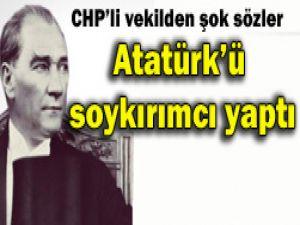 Atatürkü soykırımcı yaptı!
