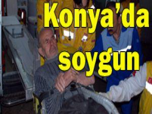 Konyada elektroşoklu saldırı