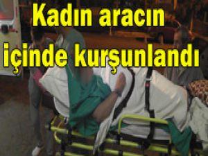 Konyada kadına silahlı saldırı