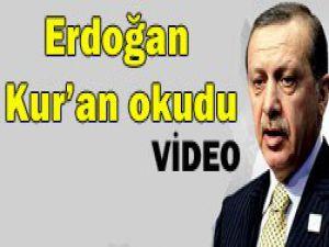 Erdoğan annesi için dua etti