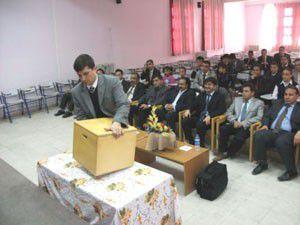 Karapınarda Öğrenci Başkanlığı seçimleri yapıldı