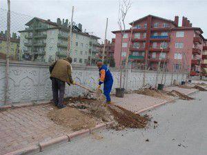 Karatayda ağaçlandırma çalışmaları sürüyor