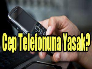 İş yerinde cep telefonu yasağı!