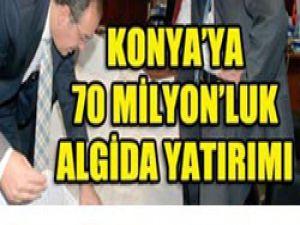 Konyaya 70 milyon Avro yatırım