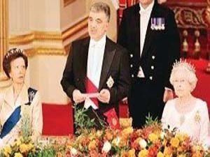 Cumhurbaşkanı Abdullah Gül İngilterede