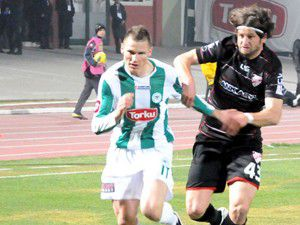 Konyaspor evinde 2 puan kaybetti