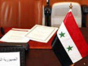 Suriye masadan suçlayarak kalktı!