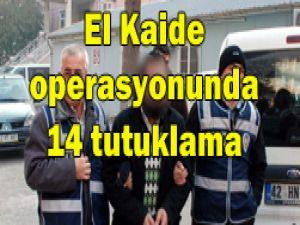 El Kaide operasyonunda 4 kişi serbest