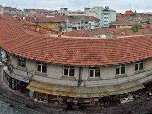 Akşehir 800. Yıl Çarşısı ikinci etap çalışmaları
