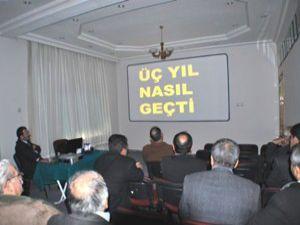 Başkan Şentürk, 3 yılını değerlendirdi