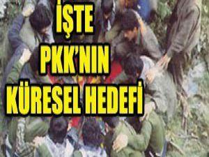PKKnın küresel hedefi