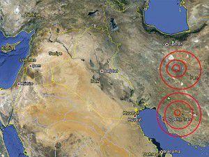 İranda iki ayrı deprem