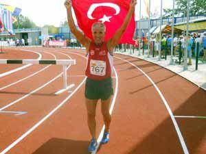 Durali Yıldız Kazan Yarı Maratonunda birinci oldu