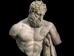 Yorgun Heraklesi 45 günde 35 bin kişi ziyaret etti