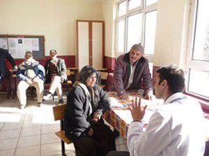 Gönüllü hekimlerden sağlık taraması