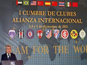 1. Kulüplerarası Uluslararası İttifak Zirvesi yapıldı
