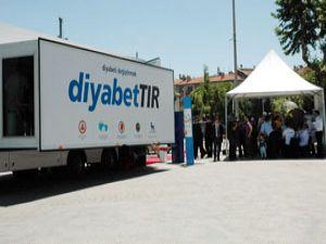 Diyabet Tırı Konyada