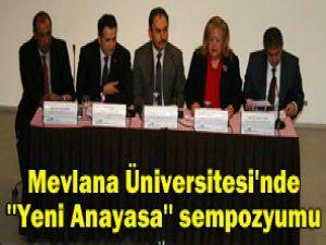 Mevlana Üniversitesinde yeni merkez