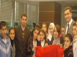 Başkan Kalaycı, Şırnaklı öğrencileri ağırladı