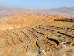 Hüyükteki toprak erozyonu önlenecek
