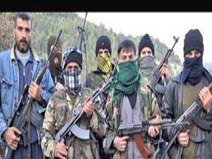 Türkiye sınırında gizemli savaşçılar