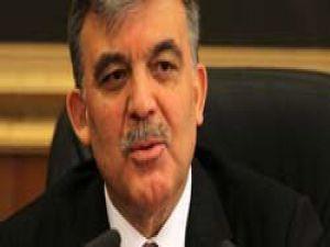 """Cumhurbaşkanı Gülden """"şike yasası"""" açıklaması"""