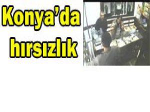 Konyada müşteri kılığında hırsız