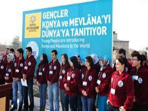 Gençler Konyayı Dünyaya tanıtıyorlar