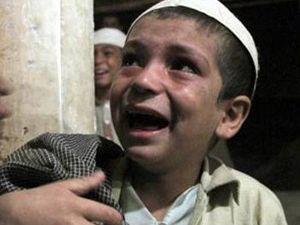 Zincire vurulan çocuklar kurtarıldı