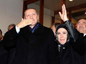 Tüm uçaklardan Erdoğana havada jest!