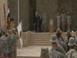 Irakta son ABD bayrağıda indirildi