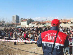 Konyada 7 şiddetinde deprem tatbikatı