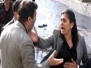 Başkomisere tokat atan BDPli Tuncele 10 TLlik ceza
