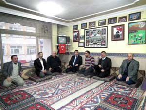 Akşehir İlçe Milli Eğitim Müdürü Konuktan yörüklere ziyaret