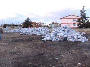 Akşehirde bin 234 aileye kömür yardımı