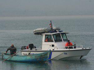 Beyşehir Gölünde avlanma denetleniyor