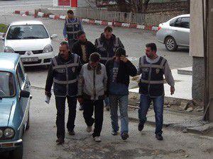 Konyada mazot hırsızları tutuklandı