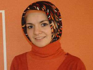 Müslüman kadının Avrupada temsilcisi oldu