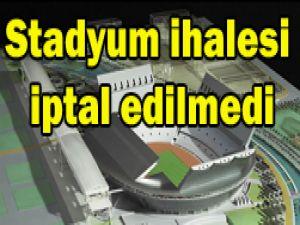 Büyükşehirden stadyum açıklaması