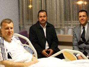 Başkan Ahmet Şan ameliyat oldu