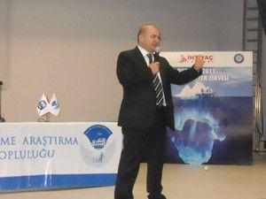 Mustafa Baloğlu Gazi Üniversitesinde